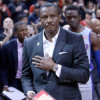 Former Raptors Coach Dwane Casey Gets Standing Ovation