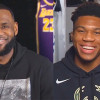 LeBron and Giannis Make Their Picks for the All-Star Draft