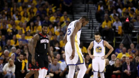 Kevin Durant Out For Game 6 With Right Calf Strain