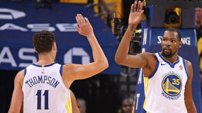 Kevin Durant is Out for Game 4, Klay Thompson Expected to Play