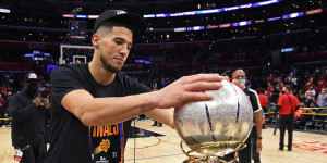 Devin Booker Smashes A Postseason Points Record: Worth Backing Phoenix Suns Star for 2022 NBA MVP?