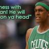 NBA Photo Fun: You Don't Mess With The Rajon!