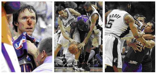 Steve Nash, Phoenix Suns, San Antonio Spurs