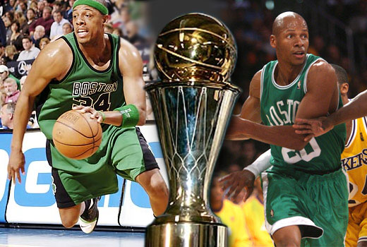 NBA Finals MVP | Paul Pierce, Ray Allen, Boston Celtics