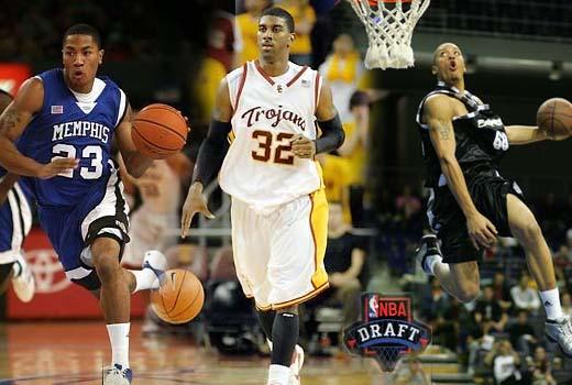 NBA Mock Draft 2008 | 2nd Edition, Derrick Rose, OJ Mayo, Michael Beasley