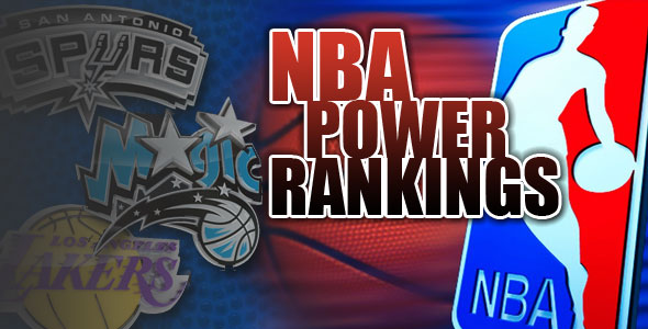 The Hoop Doctors NBA Power Rankings