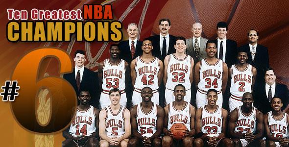 10 Greatest NBA Champions: #6 - 1991
