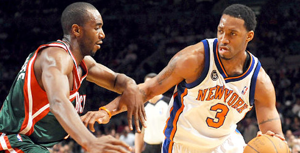 best sneakers eb745 888d3 Tracy McGrady Hurt In Only Second Game With Knicks | The ...