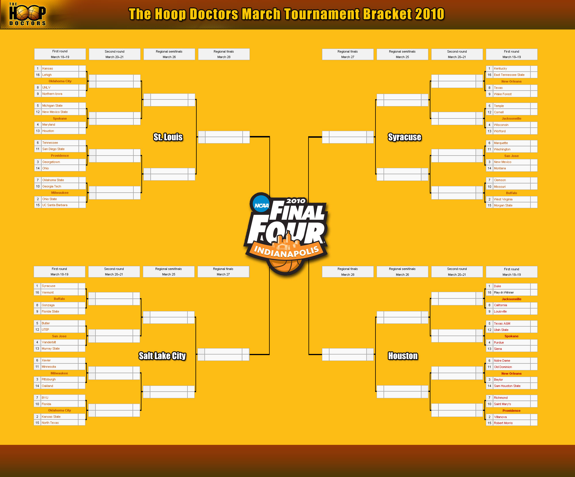 It is an image of Insane Nit Printable Bracket 2020