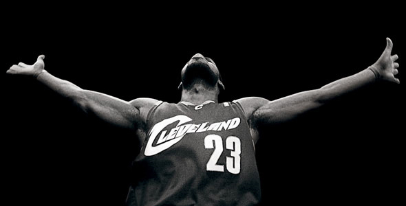 Lebron James Cleveland Cavaliers Thanks