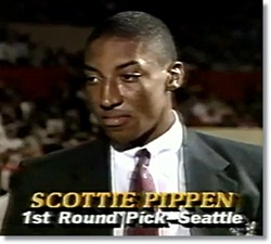 factory price 2194e 30ac6 Scottie Pippen Rewind - High School and College Years | The ...