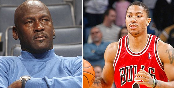 Michael Jordan Thinks Derrick Rose is