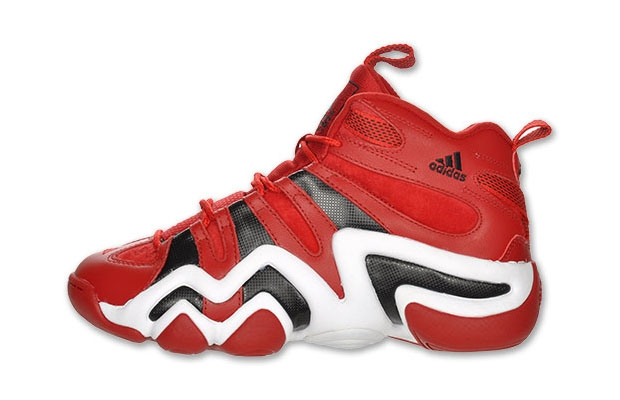 sports shoes 7a344 24f77 adidas Crazy 8 Red Black-White