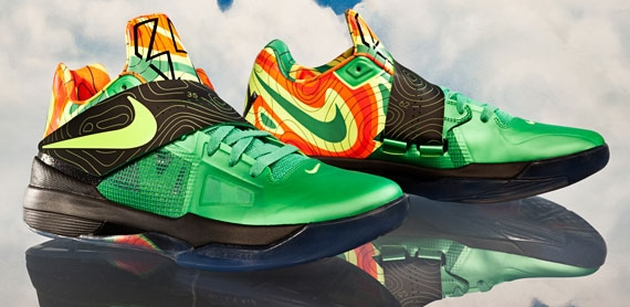 best loved ebce8 c80d6 Nike Zoom KD IV –  Weatherman  Release Date Announced