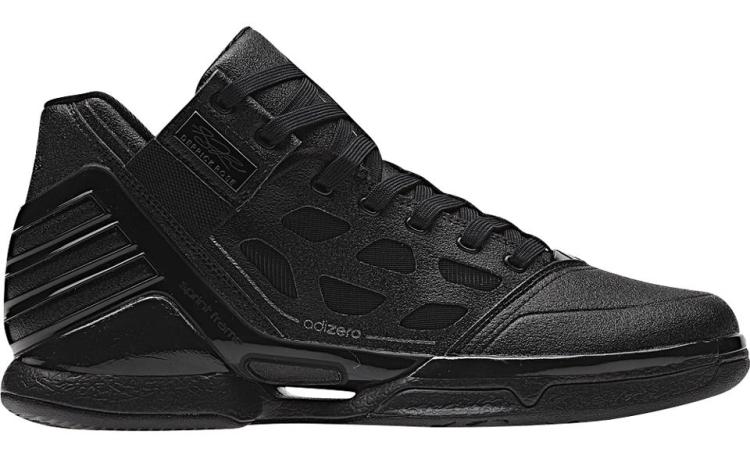b99590af270 adidas adiZero Rose 2  Triple Black     White Lining  Facebook Flash ...