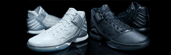 innovative design 0e111 0b597 1-Hour Fire Sale! adidas adiZero Rose 2  Triple Black     White Lining   Early Release
