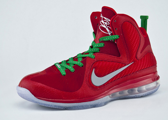 Christmas Lebron 9s.Top 9 Lebron 9 Colorways