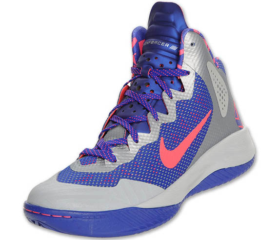 7e30ece444d6 Nike Zoom Hyperenforcer XD -  Wolf Grey Solar Red-Concord