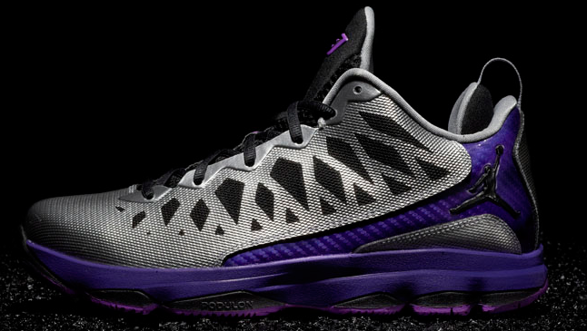 super popular fa6cc 89bc4 Jordan CP3.VI  Metallic Silver Black Court Purple Lazer Purple