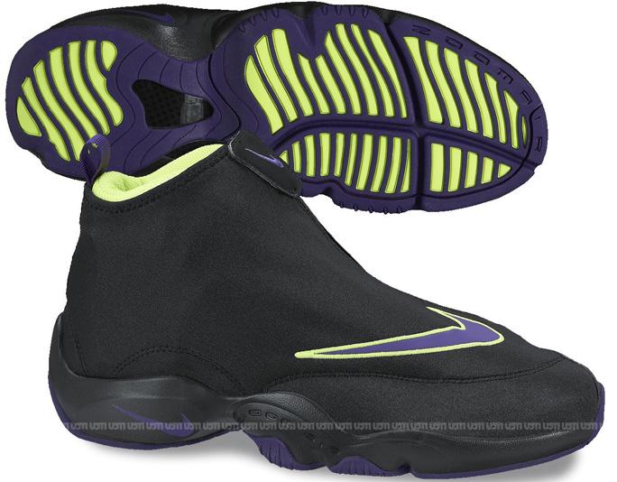 Nike Air Zoom Flight 98 (The Glove) In Lakers Colorway