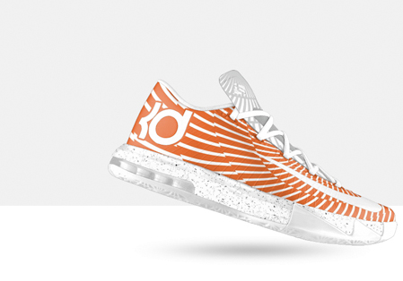 best authentic 8a347 44eb7 One of the better trends with signature basketball sneakers up for  customization through the Nike iD program is that the graphic features from  the more ...