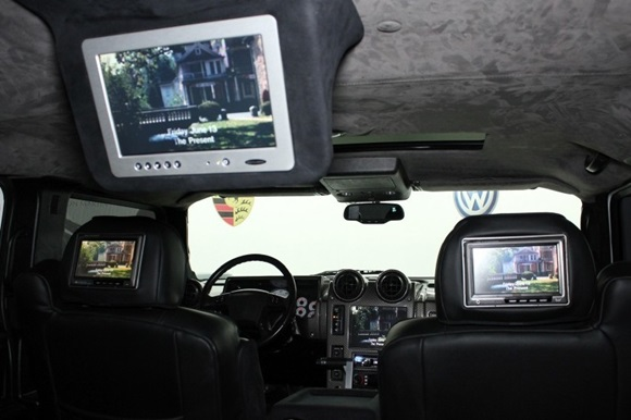 05096755aeb PICS  Lebron s Infamous 2003 Hummer H2 For Sale
