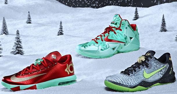 classic fit 8cfba 930db Nike Basketball –  Christmas  2013 Pack