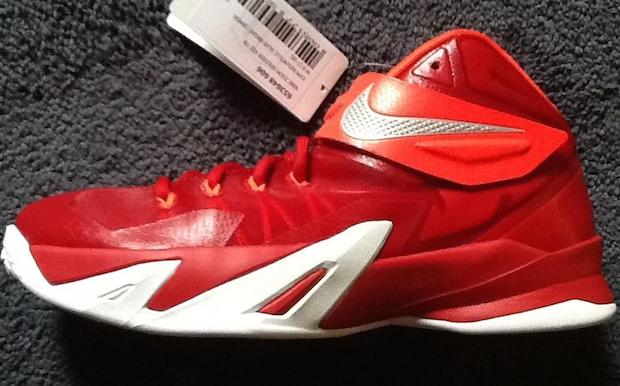 best sneakers 97299 48f40 Sneak-A-Peek: Nike Zoom LeBron Soldier VIII (8) Sample