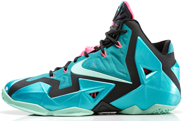 check out c90b0 113f3 Nike LeBron 11 –  South Beach  Release Info
