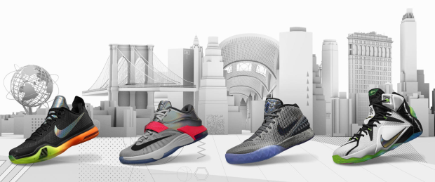 Nike Basketball 2015 All Star Zoom City Pack