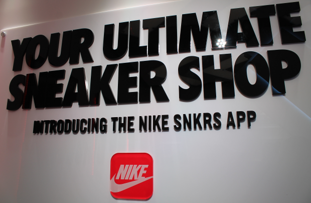 Inside the Nike SNKRS App Pop-Up Installation