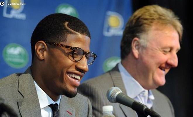 92c81c24606 With only a few games left in the 2014-15 regular season, Indiana Pacers  president Larry Bird says he expects Paul George to play this year.