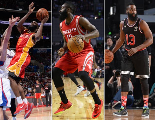 54de24dd445 James Harden - Does NBA Players Wearing Older Sneaker Models Matter