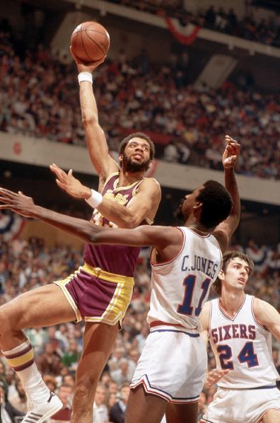 Los Angeles Lakers Kareem Abdul-Jabbar, 1980 Finals