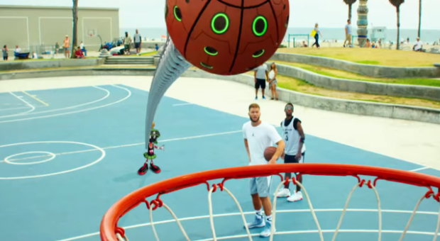 adf3d12a466a Blake Griffin and Marvin the Martian Star In New Jordan Super.Fly 4  Commercial