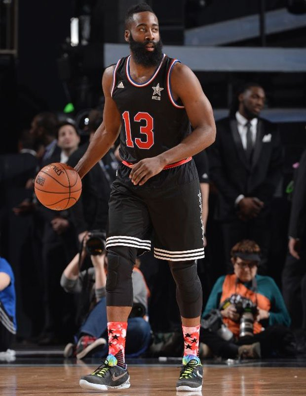 9261dd279280 Top 13 James Harden On-Court Nike Sneakers