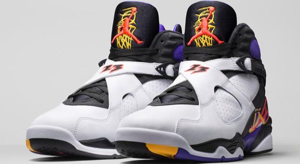 online retailer 35632 5872a Air Jordan 8 'Three Time's A Charm' Release Info