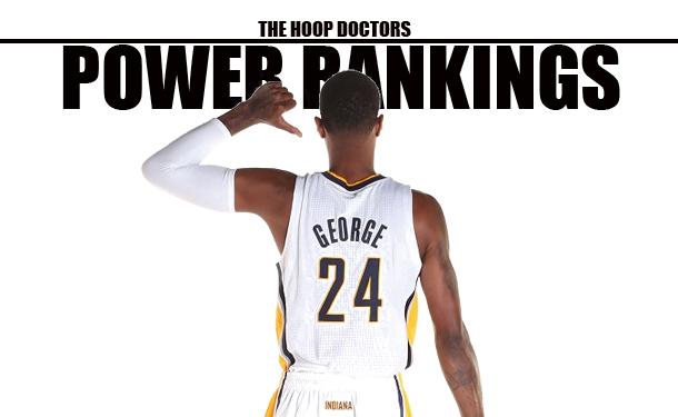 NBA Power Rankings Pacers