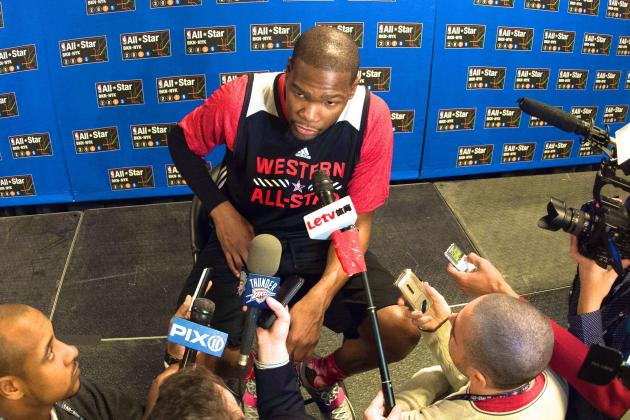 Kevin Durant Media Reporters