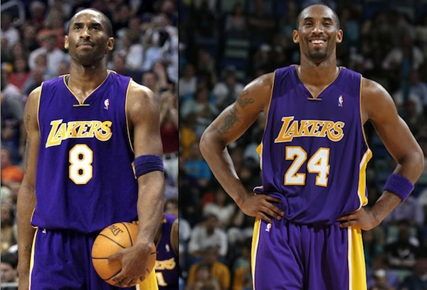 dc49f82b9a4f Lakers May Retire 8 and 24 for Kobe Bryant