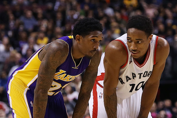official photos 6caa6 fd2e7 Bet on Lou Williams Recruiting DeMar DeRozan for Lakers