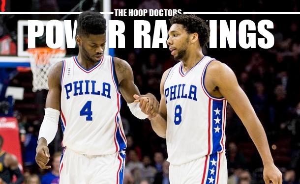 NBA Power Rankings Sixers