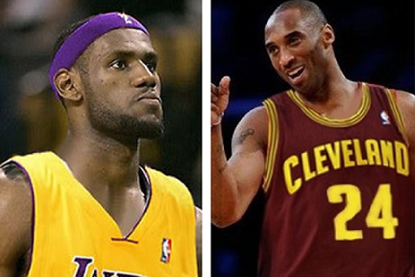 finest selection 6e544 c6426 The Lakers Once Contacted The Cavs About A Kobe For LeBron Swap
