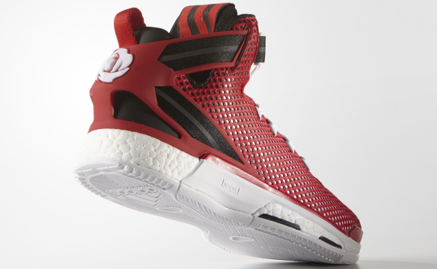 D Rose 6 Boost Scarlet Colorway