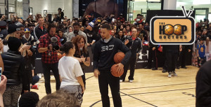 Girl Beats Stephen Curry