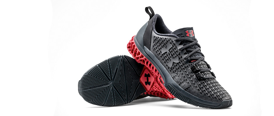 Under Armour Creates First 3D Printed Shoe
