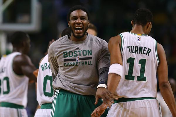 Evan Turner Jae Crowder Celtics