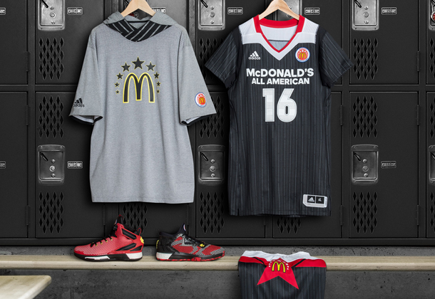 McDonald's All-American adidas Jerseys Footwear