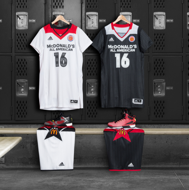 b142fb4c6 adidas Releases Latest McDonald s All-American Game Gear