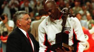 NBA MVPs Michael Jordan